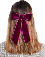 Jennifer Behr Mathilde Velvet Bow