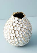 Anthropologie Honeycomb Vase