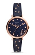 Fossil JACQUELINE THREE-HAND NAVY WATCH