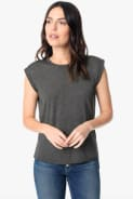 Joe's ADRIENNE ROLL SLEEVE TEE