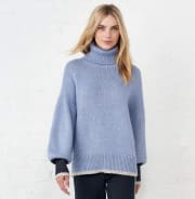La Ligne Big Blue turtleneck