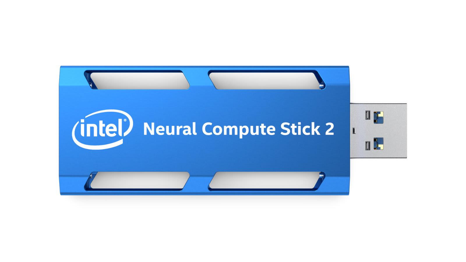 Intel 的「神經元計算棒」讓你把 AI 帶著走