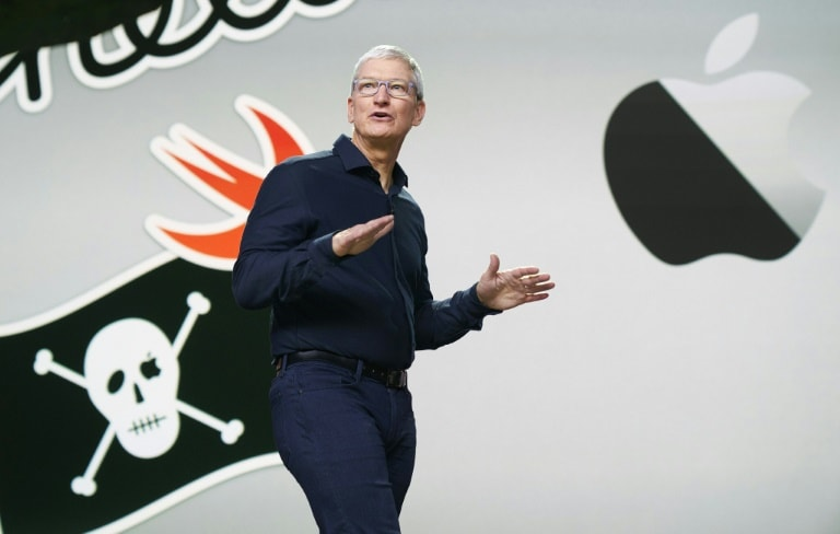 Apple CEO Tim Cook kicks off the tech giant's developer conference which was being held online only as a result of the COVID-19 pandemic