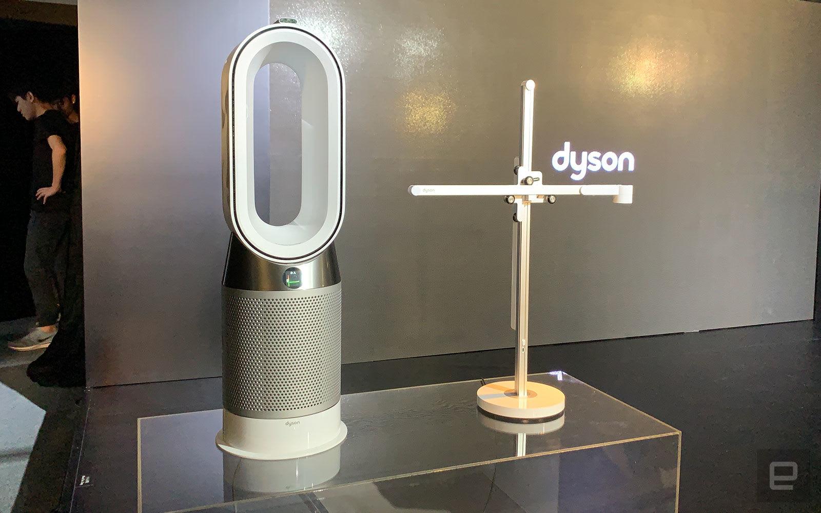 Dyson 首款燈具、升級版 Pure Hot+Cool 抵港開賣