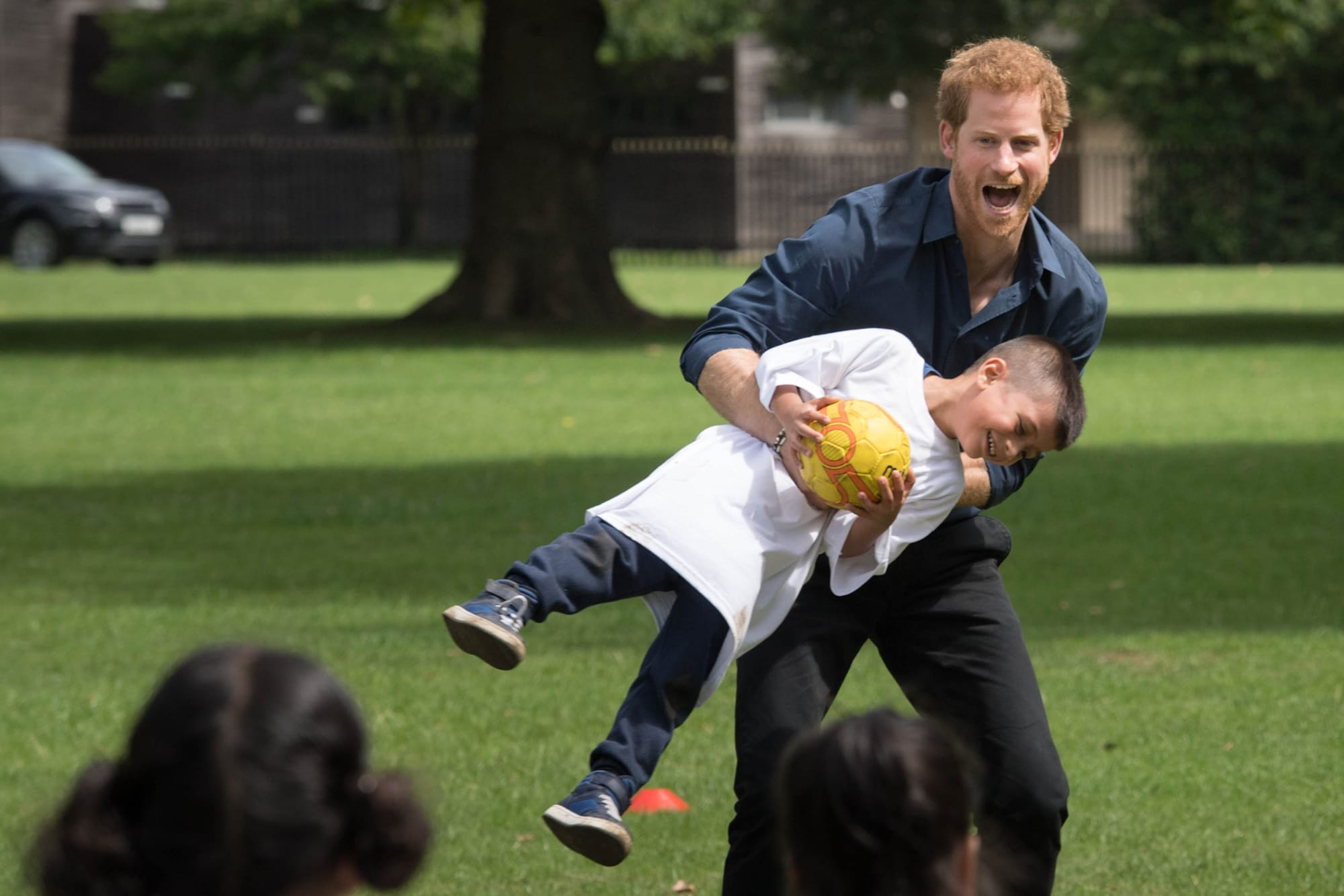 Prince Harry Visits StreetGames' Fit And Fed