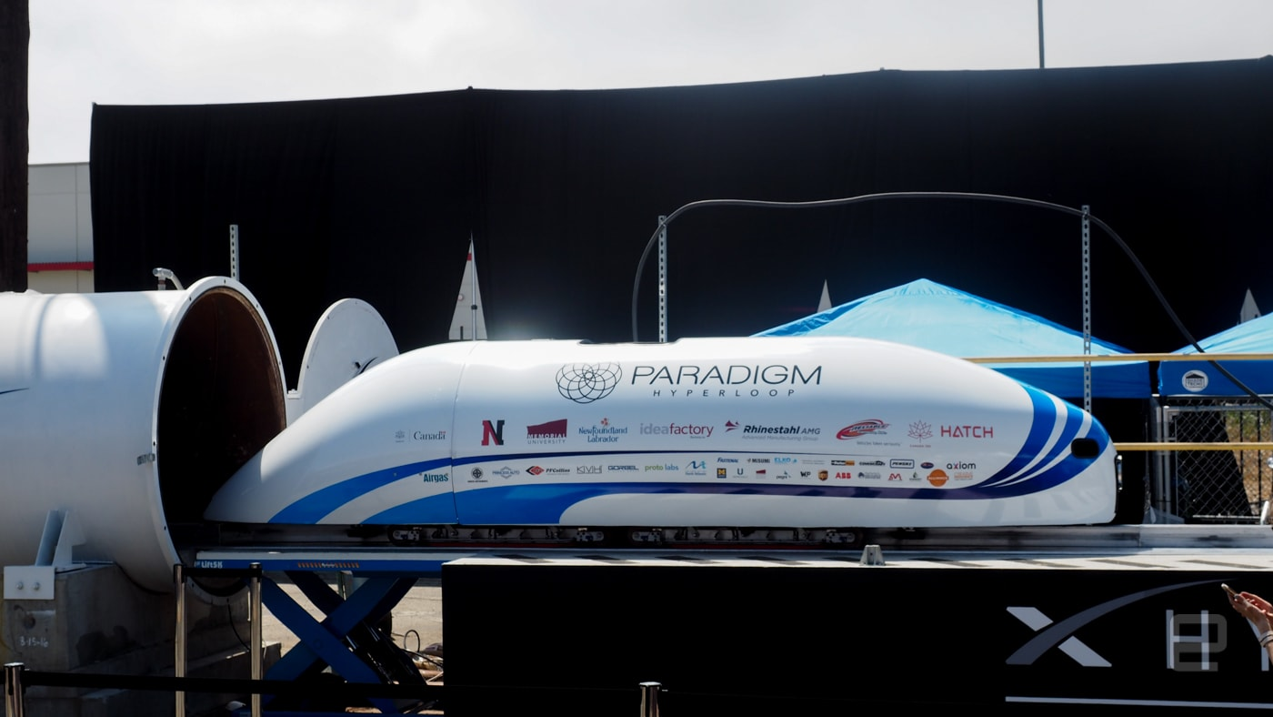 Hyperloop Pod Competition winner hits over 200MPH