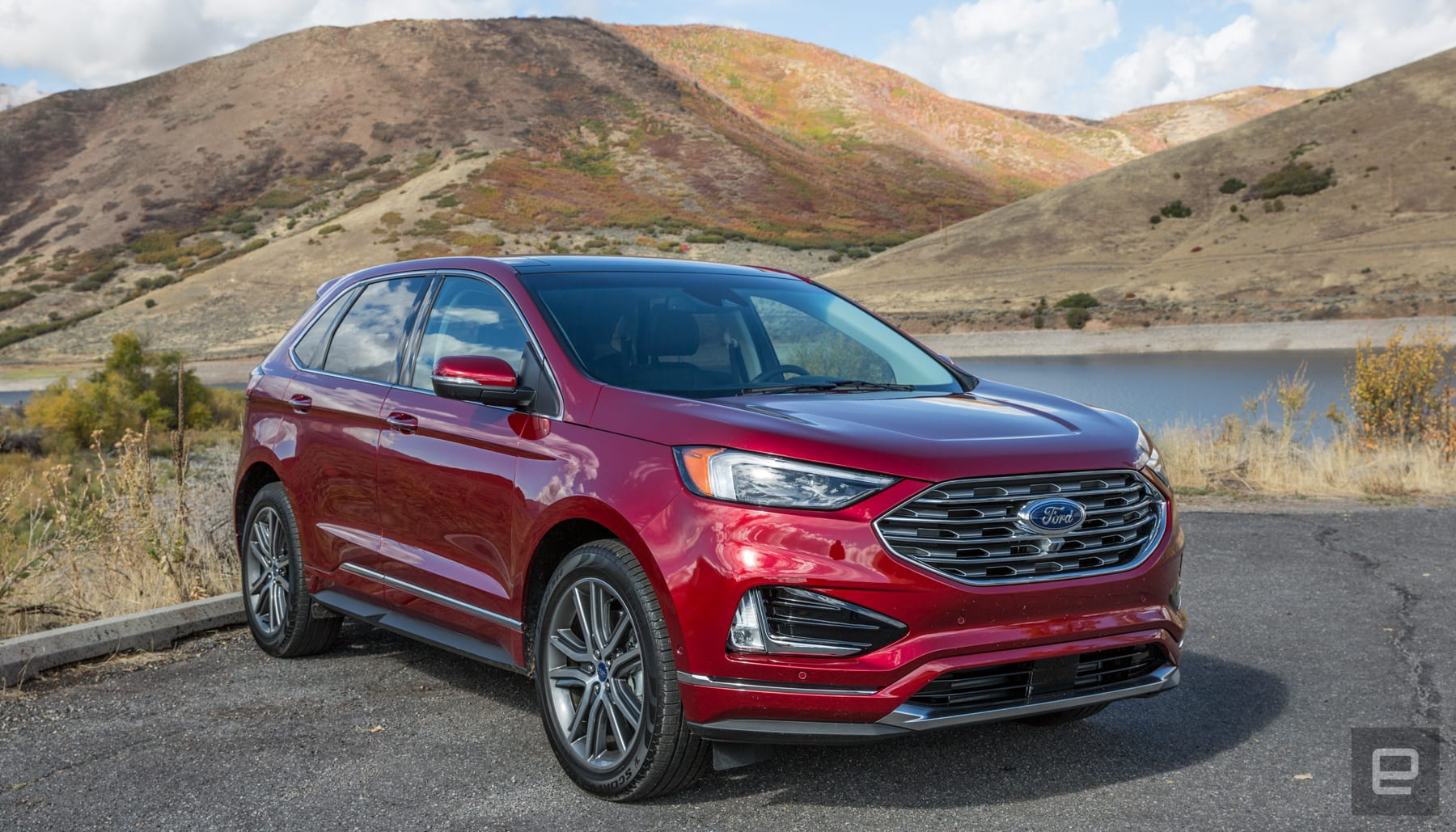 the ford edge 2019 gets better tech and minor facelift. Black Bedroom Furniture Sets. Home Design Ideas