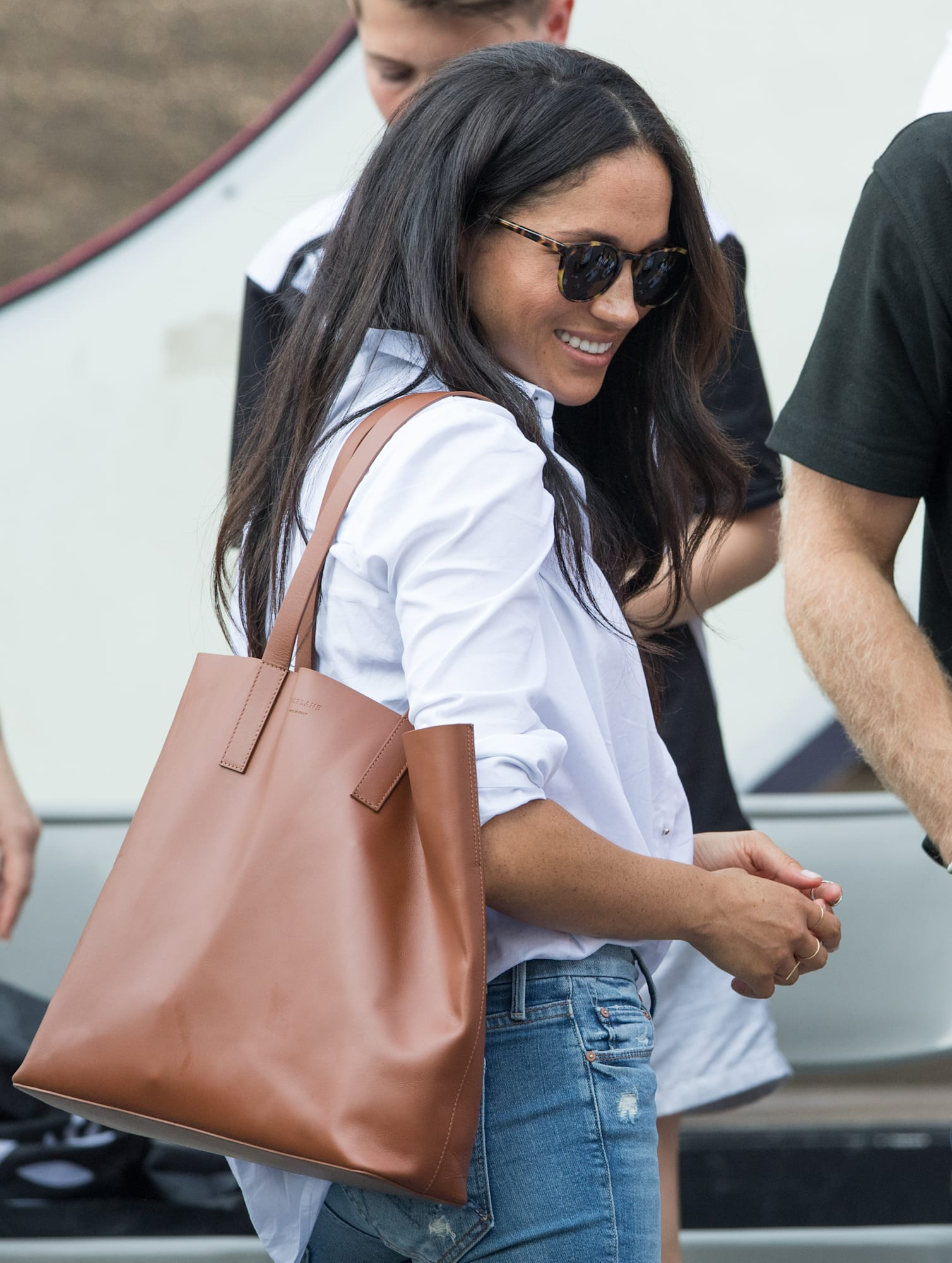 Madewell transport tote celebrity