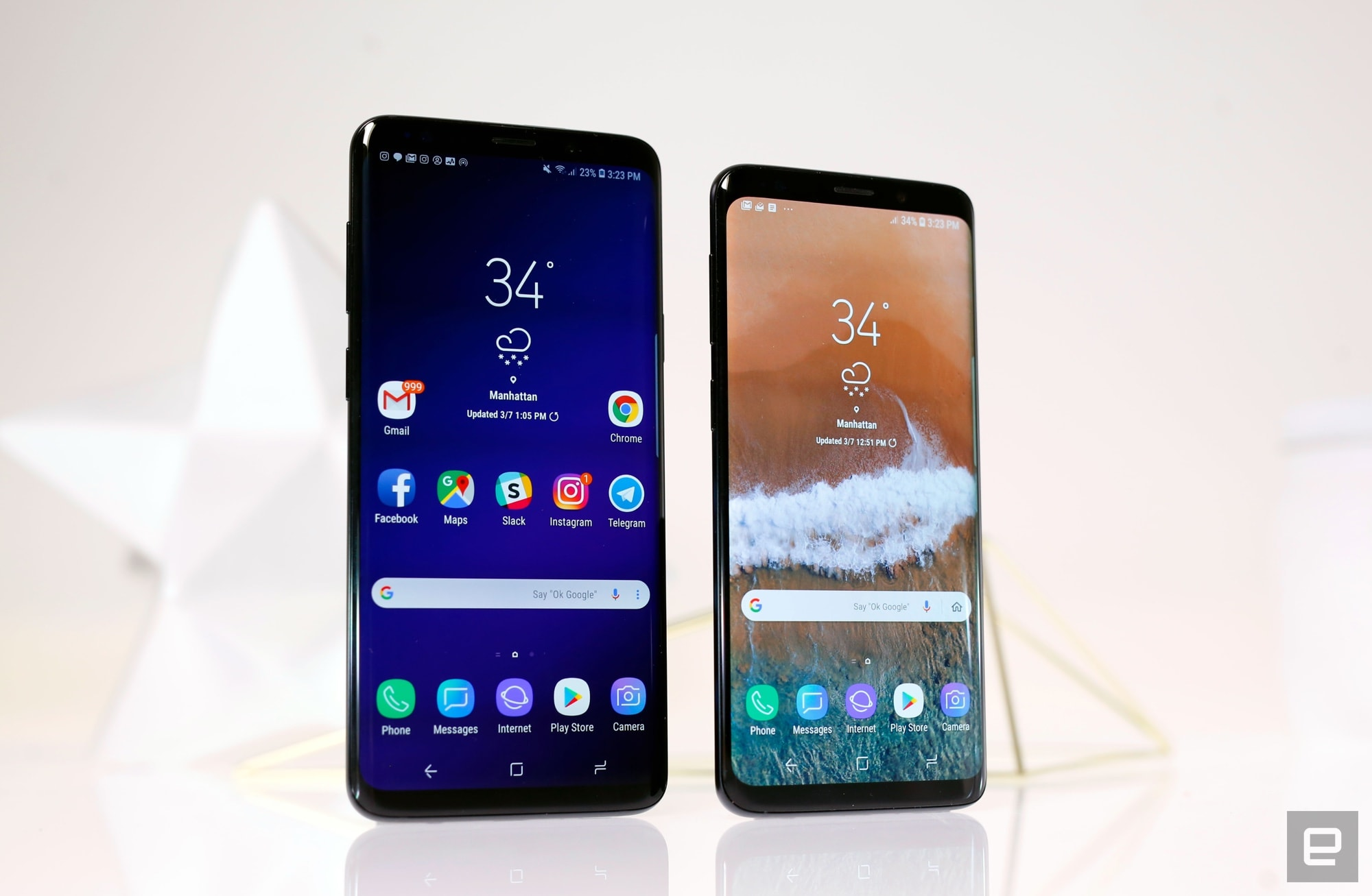 Samsung Galaxy S9 And Plus Review Excellent Not Monumental Faster Data Transfer With Point Paste Technology