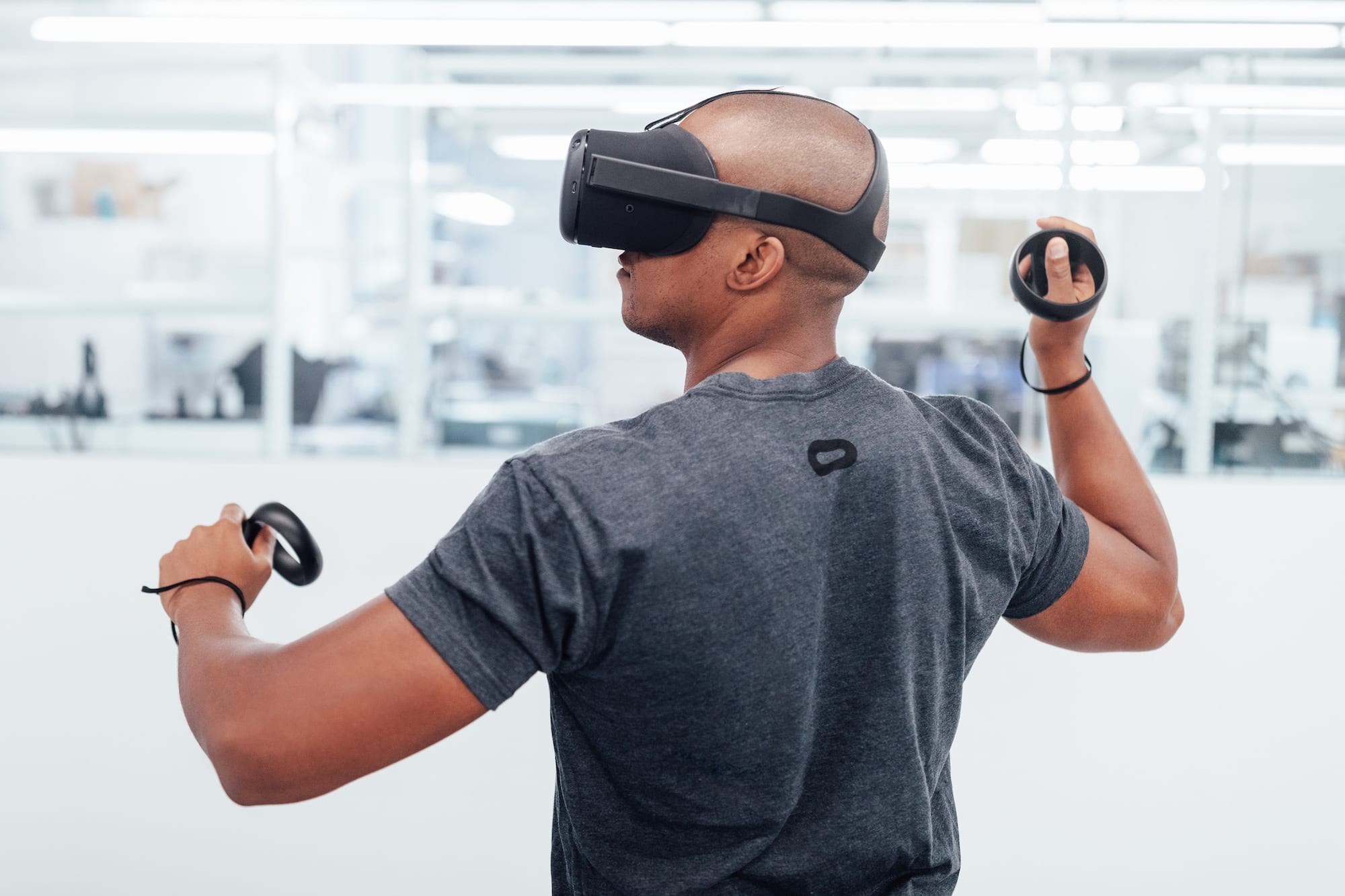 Oculus has two standalone headsets in the pipeline  Go and Project Santa  Cruz. Go is a wireless headset for the masses 733405ee50df6
