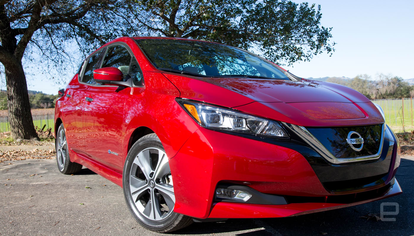 The 2018 Nissan Leaf Gets A Semi Autonomous Upgrade