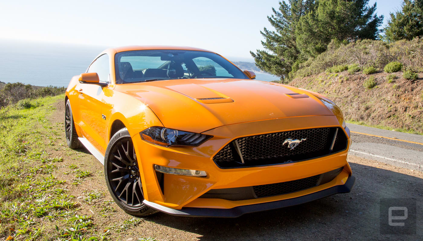 The Mustang GT adds brains to the brawn