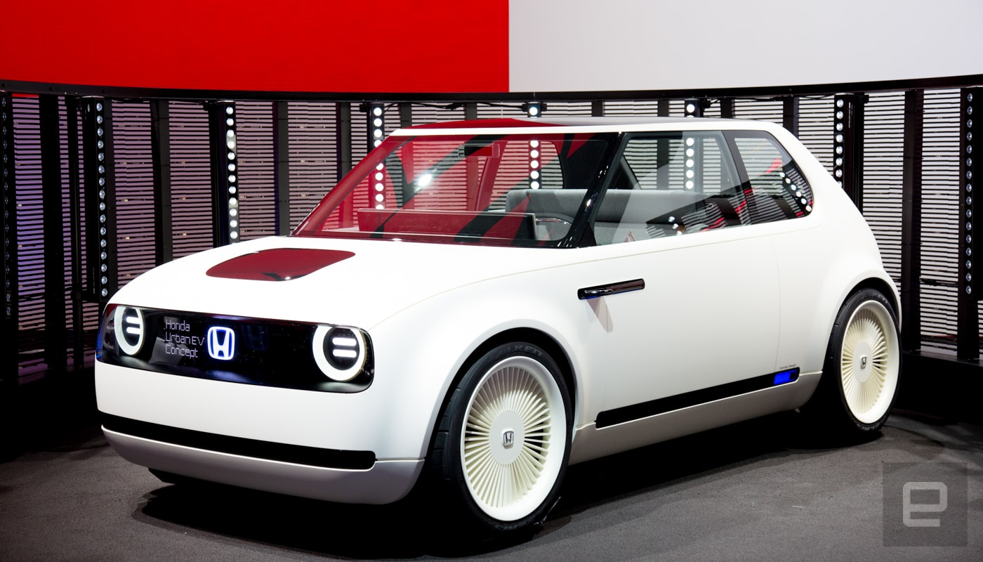 honda s urban ev concept is a throwback to the old civic. Black Bedroom Furniture Sets. Home Design Ideas