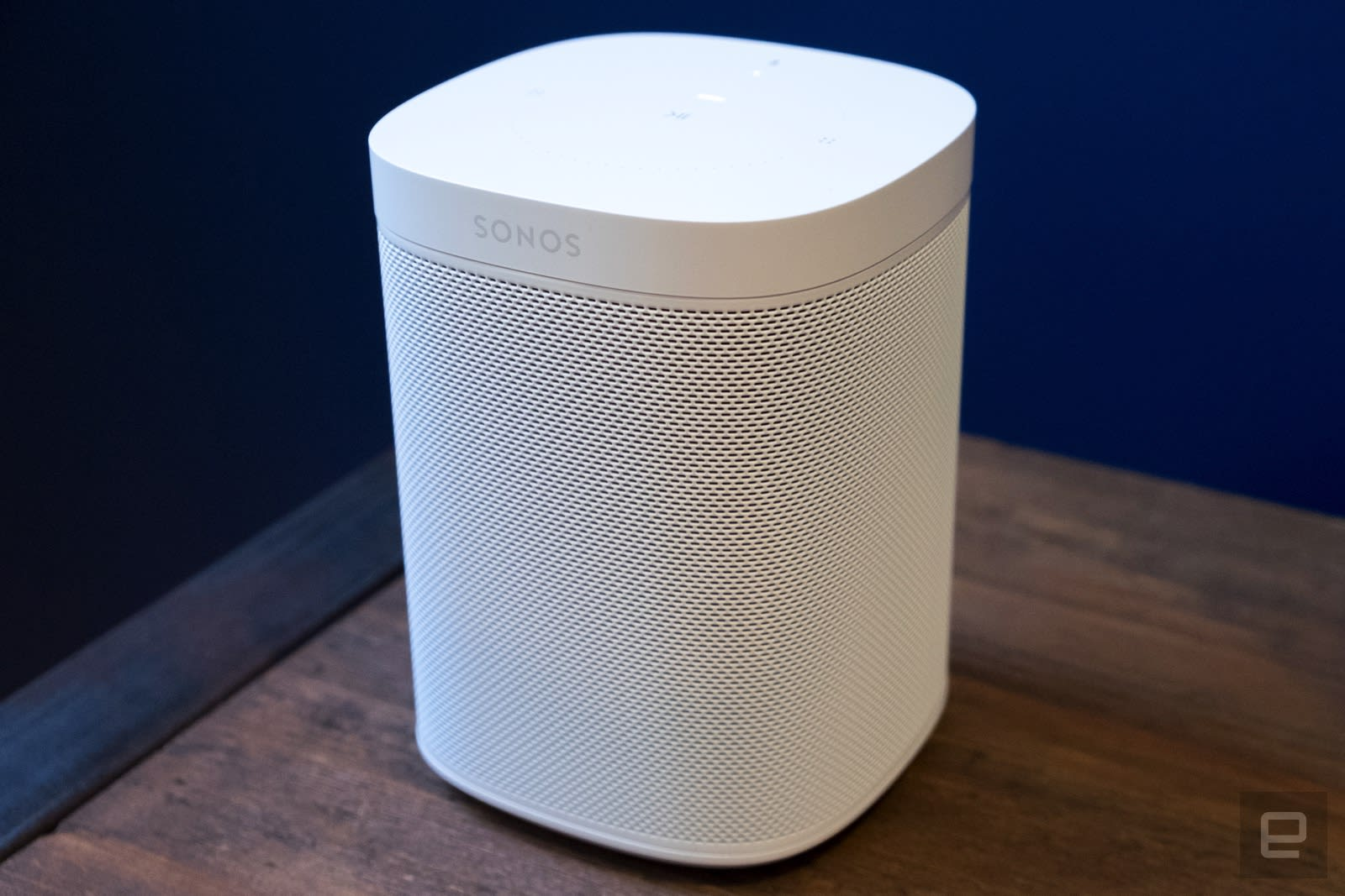 sonos one review the best sounding smart speaker you can buy. Black Bedroom Furniture Sets. Home Design Ideas