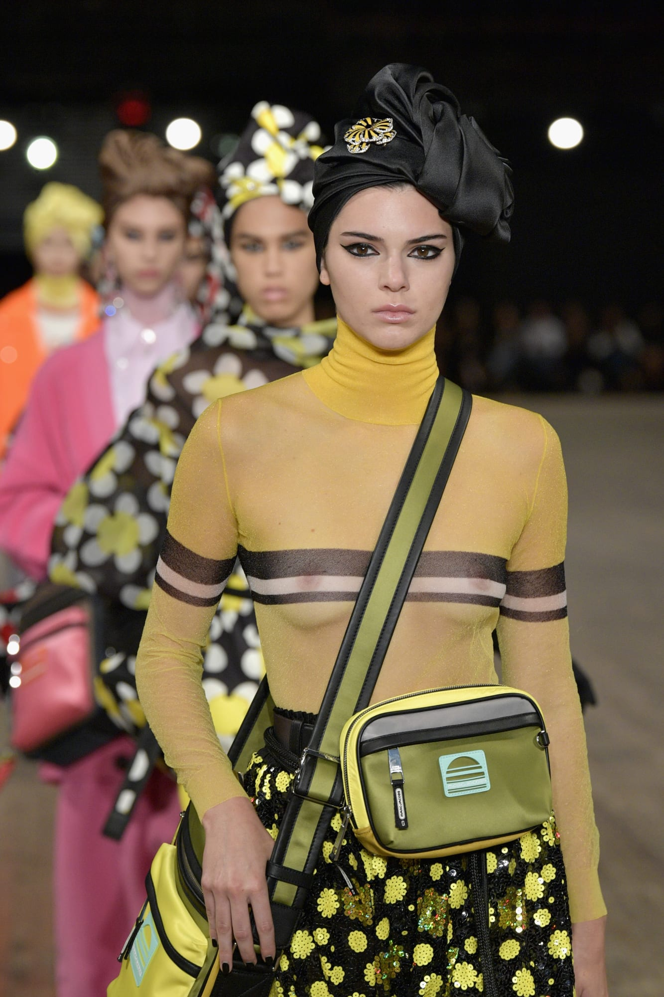 No one blinked at the marc jacobs fashion show when a model wore a - Marc Jacobs Ss18 Collection Runway Photo Getty Fashion Week