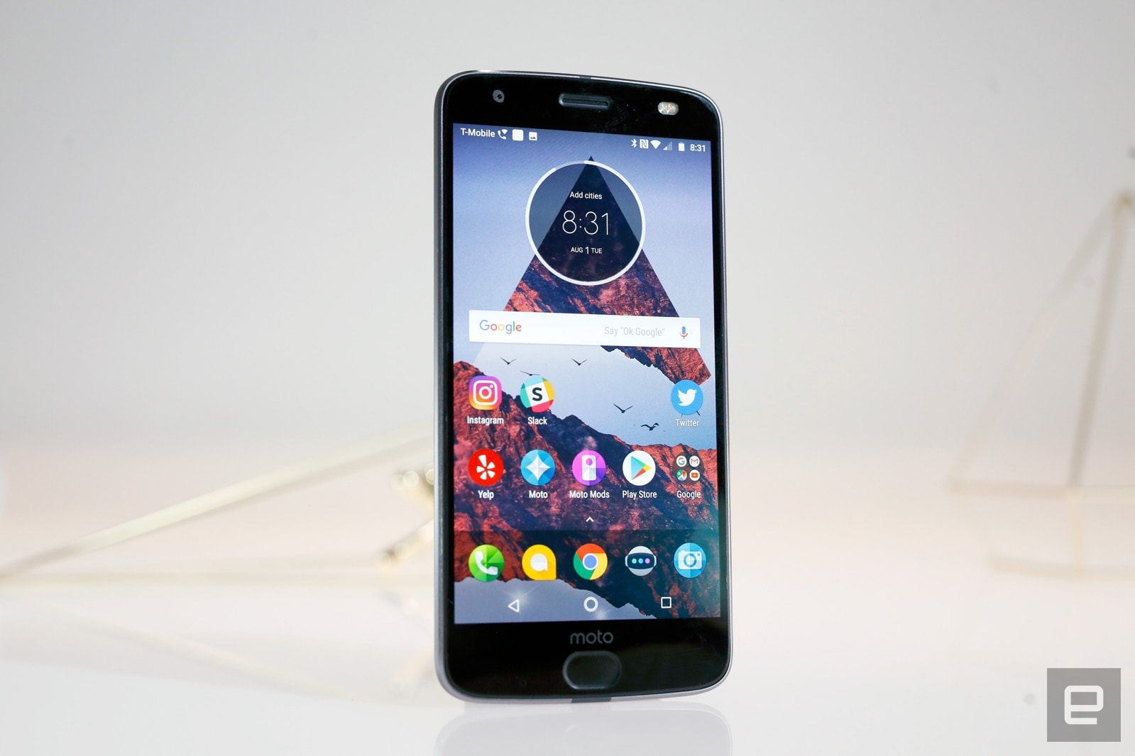 27c115511f Moto Z2 Force review  One step forward