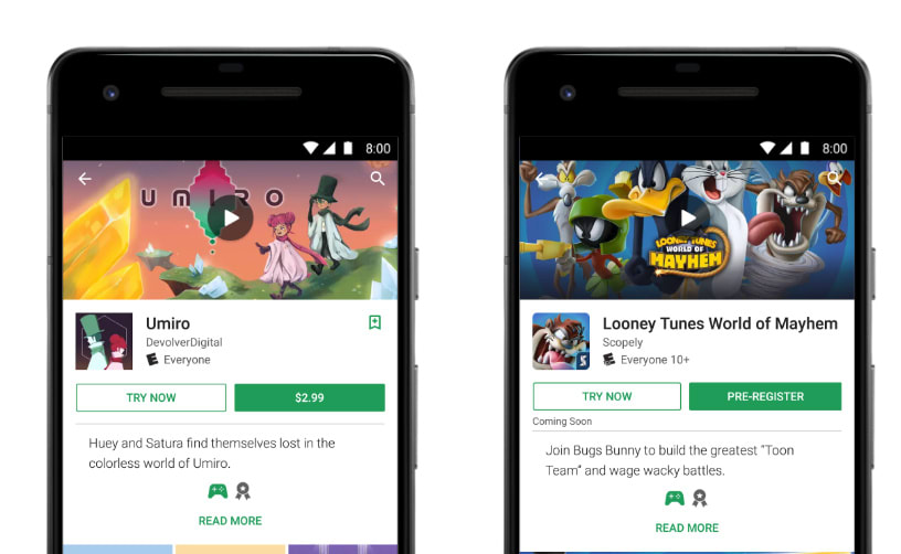 Image result for Google Play update enables smaller app installs