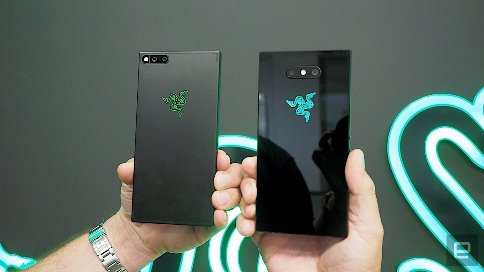 razer phone 1 vs. 2