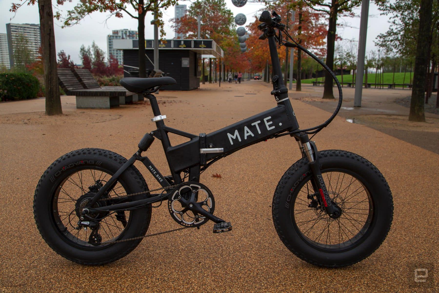 Mate X electric bike