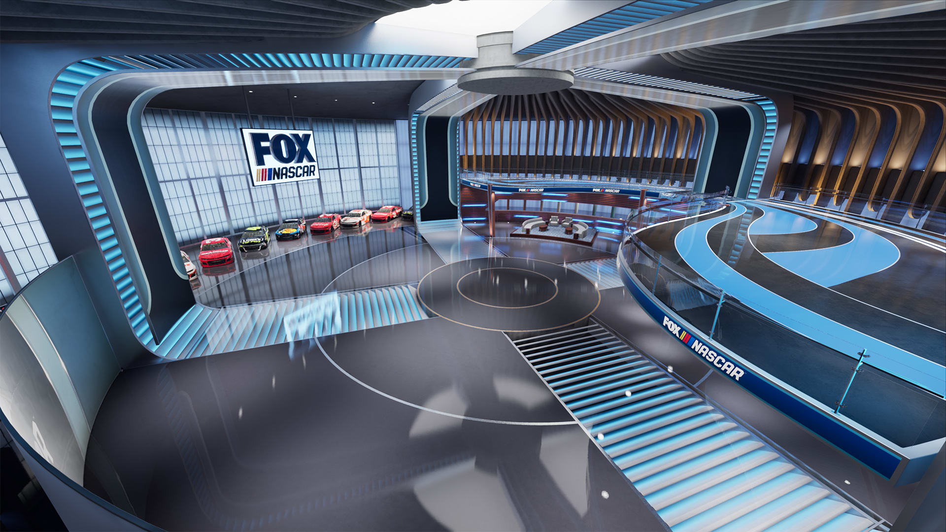 Fox Sports' new virtual studio runs on Unreal Engine