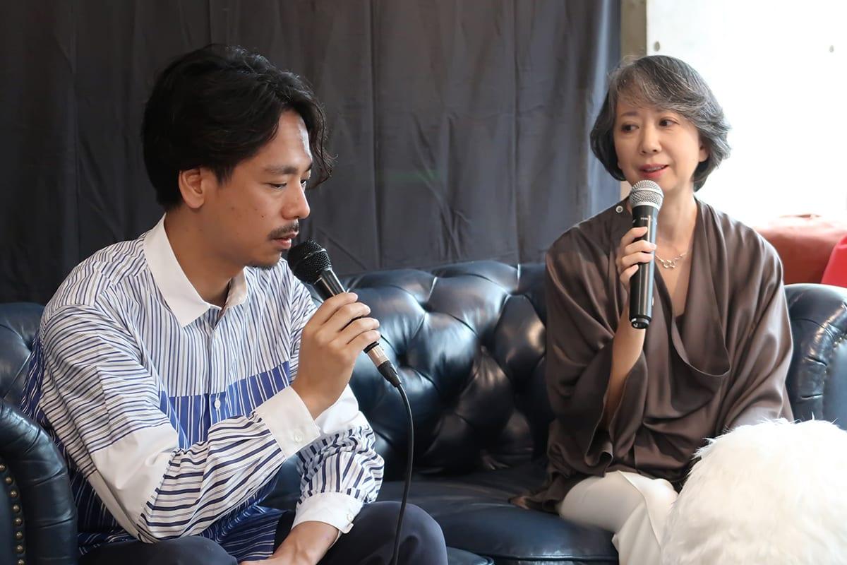 CEO美馬氏と睡眠改善インストラクター 鍛治恵氏によるパネルディスカッション