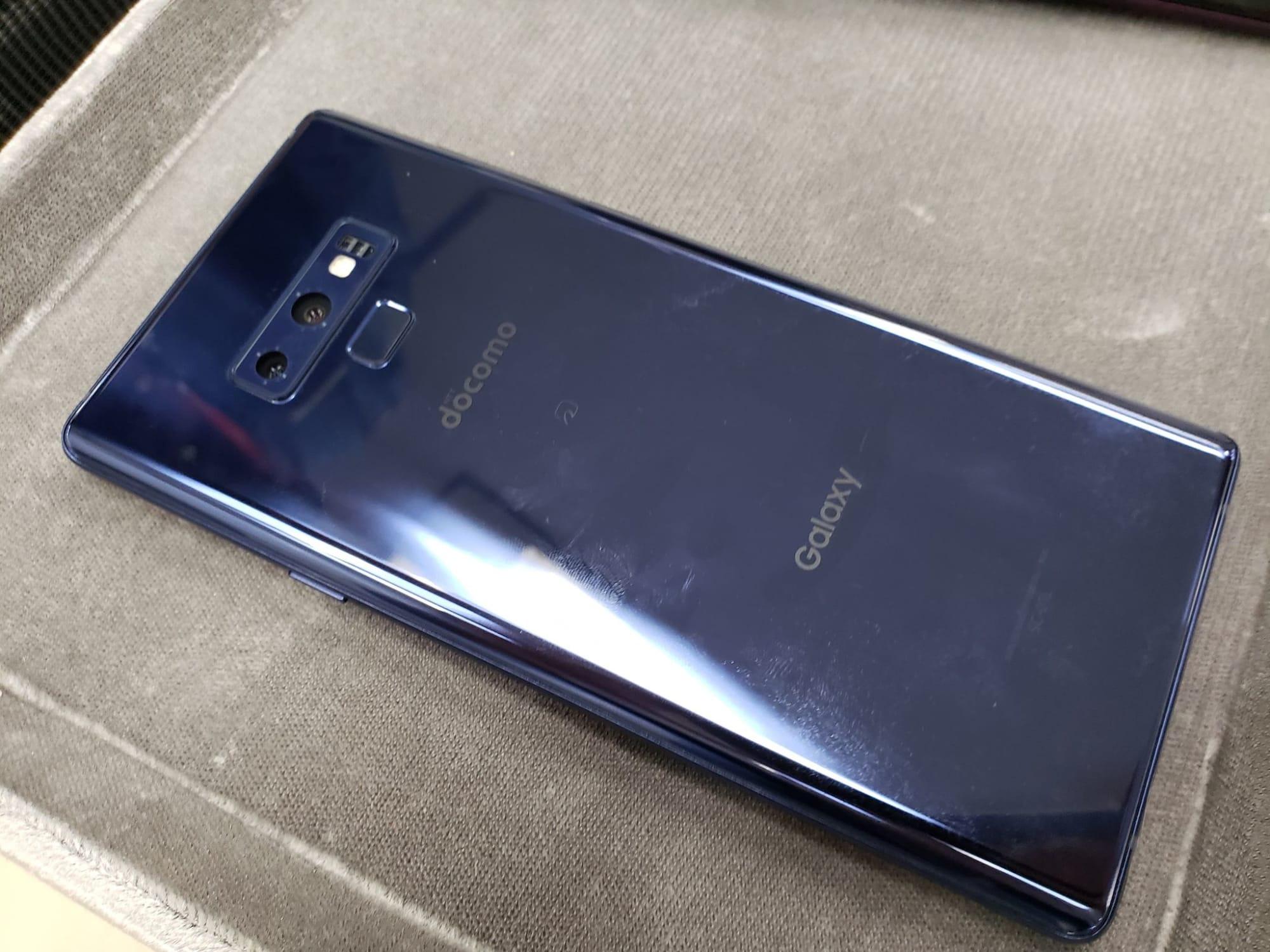 docomo Galaxy Note9