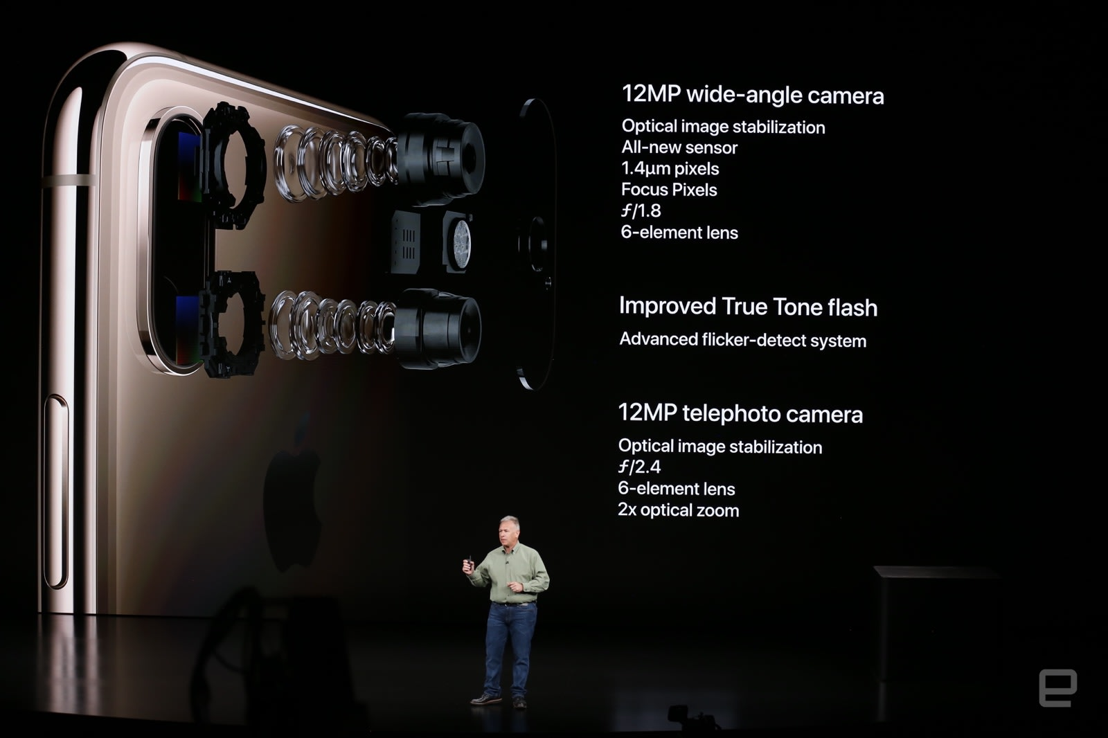 The iPhone Xs adjusts depth-of-field on your photos after the fact