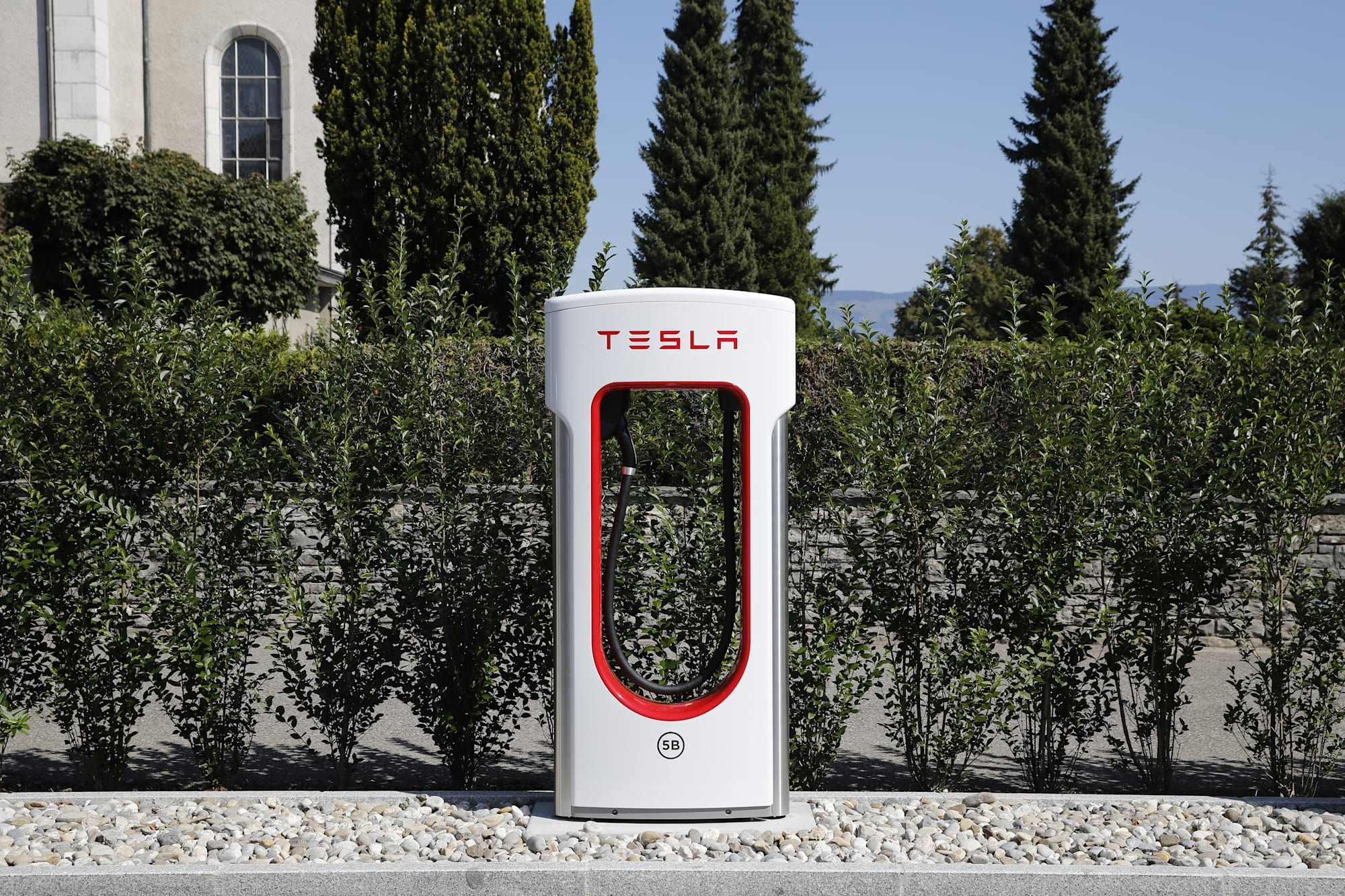 Tesla Inc. Supercharging Stations As Musk Mulls Privatisation Plans