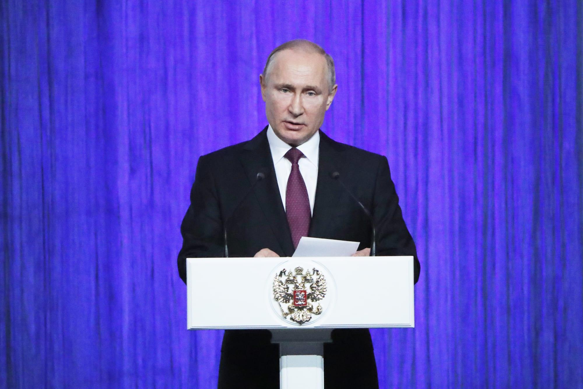 President Putin attends Cosmonautics Day concert in Kremlin