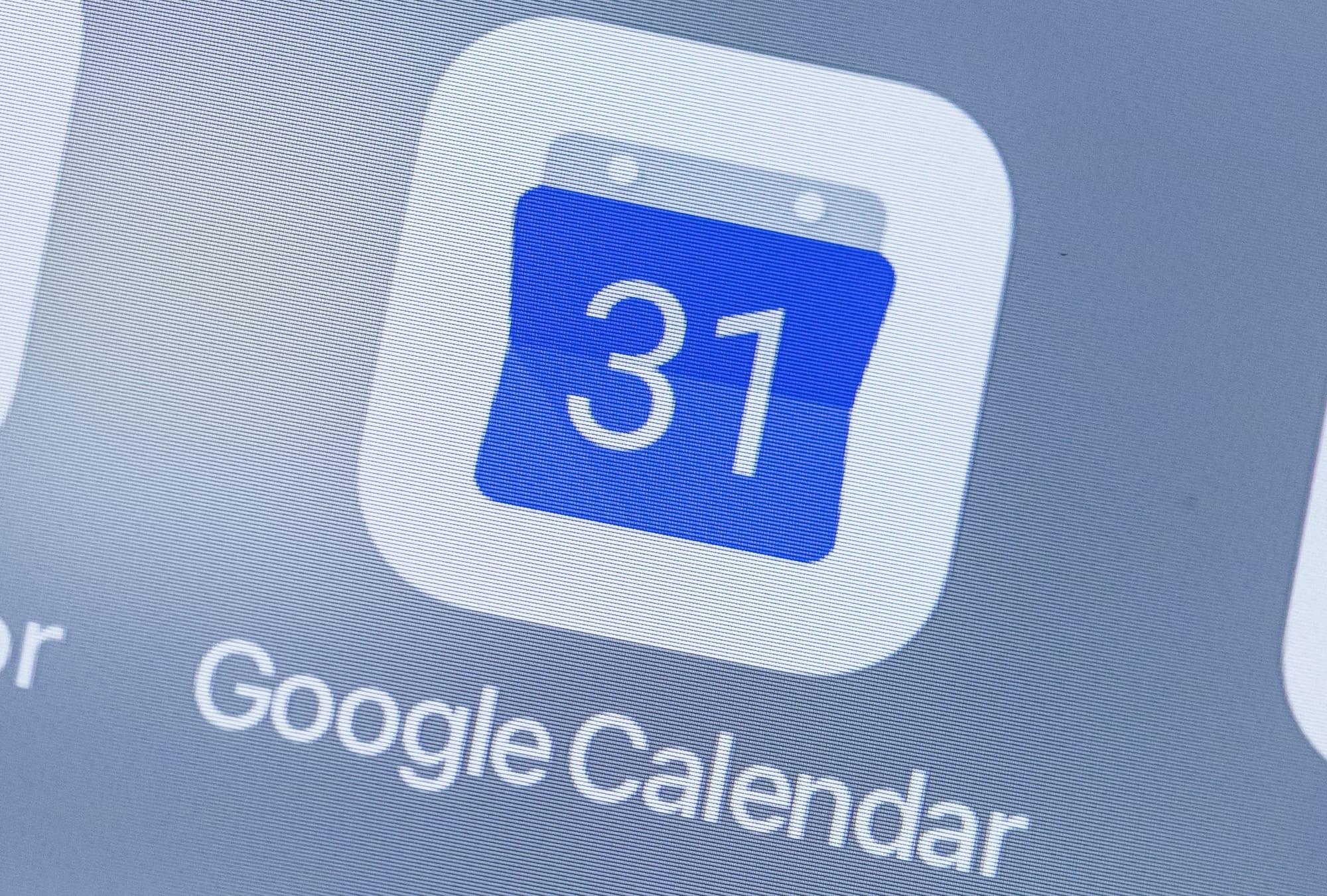 Google Calendar is down, everyone panic!