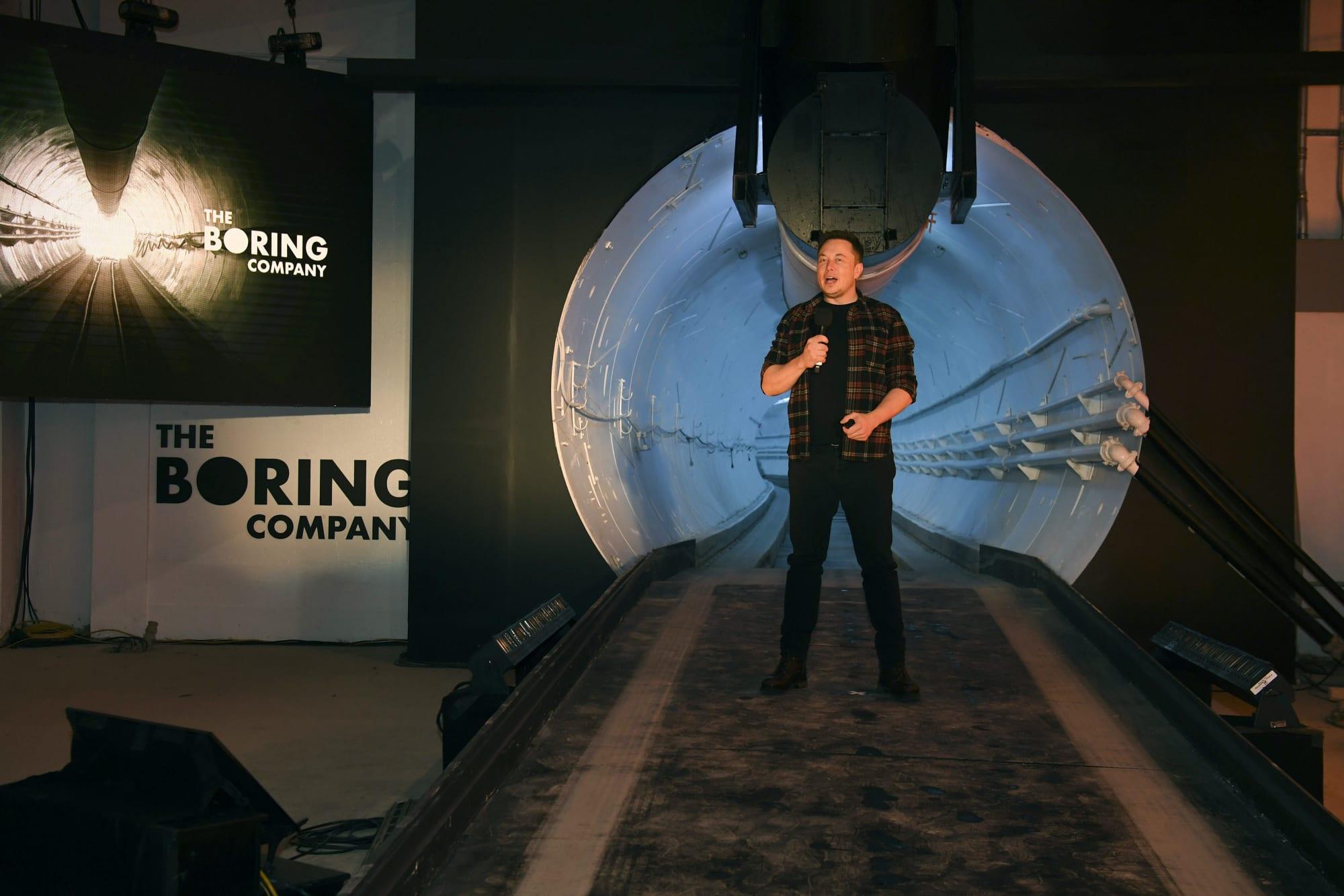 Elon Musk's Boring Co  raises $120 million in outside funding
