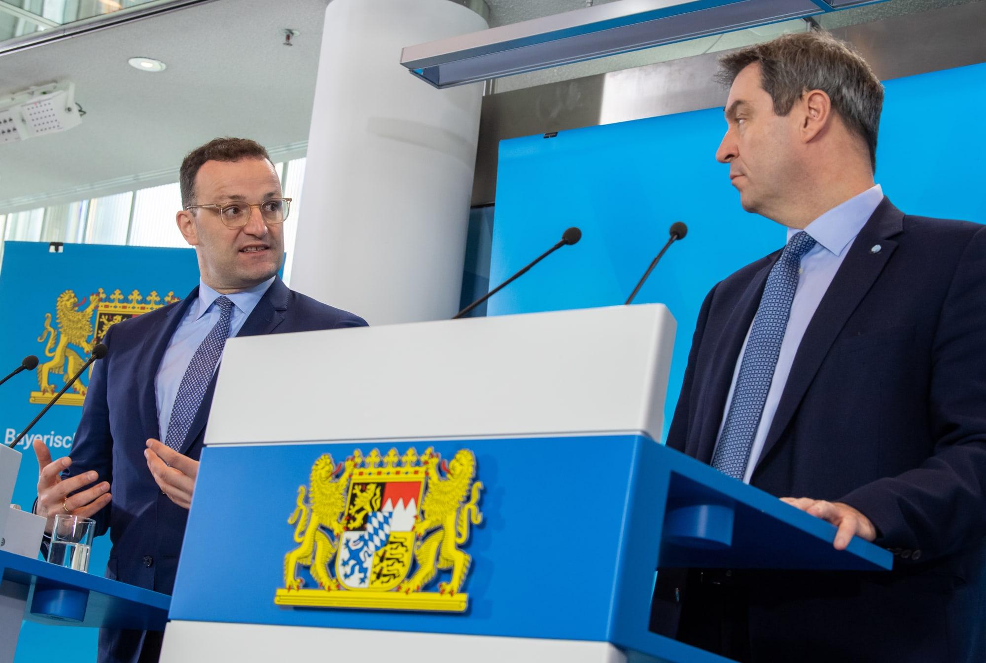 Coronavirus - Bavaria - Cabinet meeting