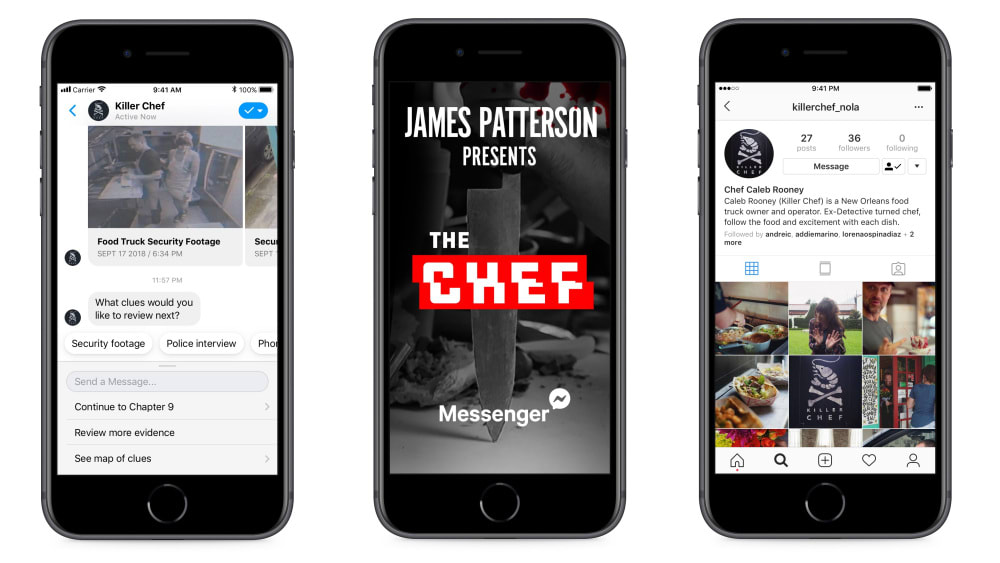 James Patterson's 'The Chef'