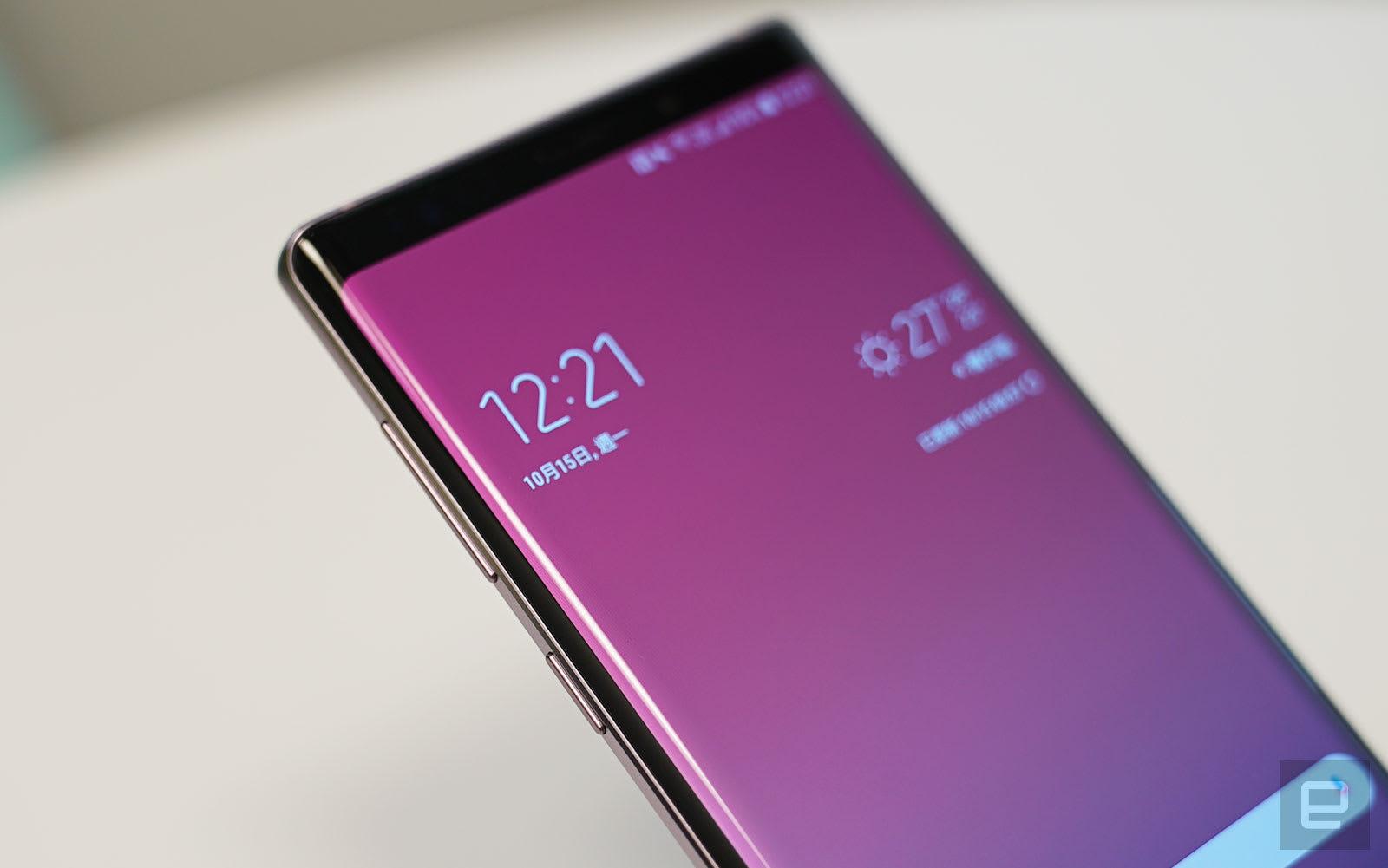 Samsung Galaxy Note 9 评测