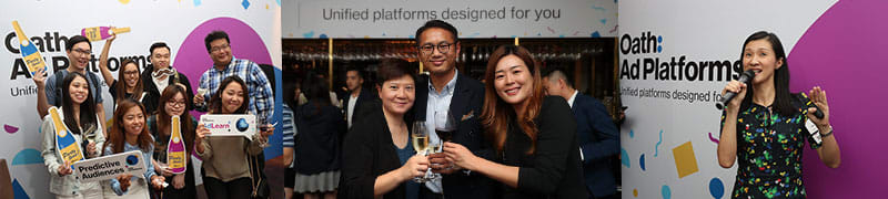 Oath Ad Platforms HK Launch Party