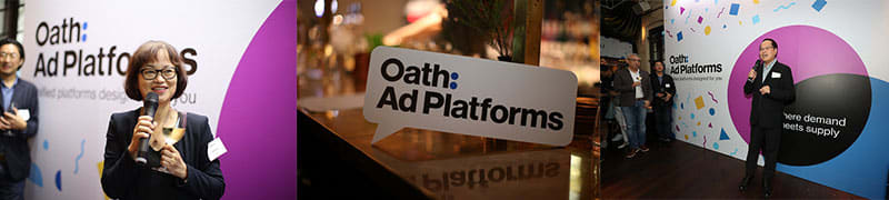 Oath Ad Platforms Launch Party Opening