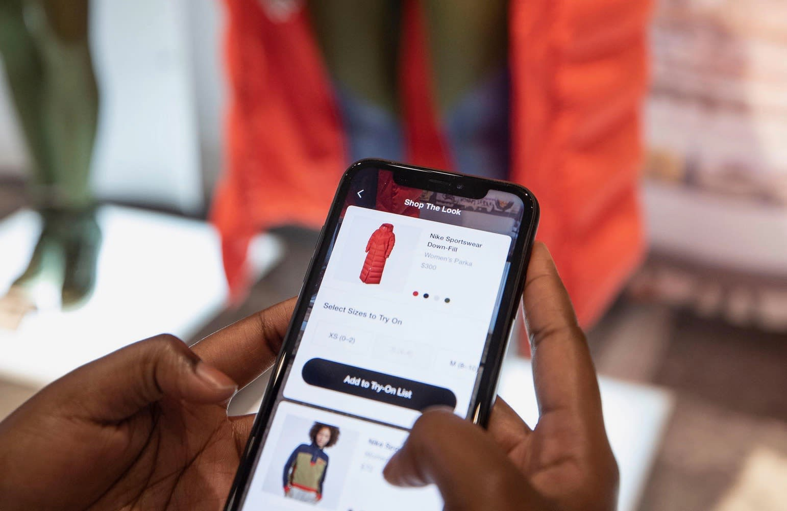ab00bb4dd Nike's new NYC flagship store is fueled by its mobile app