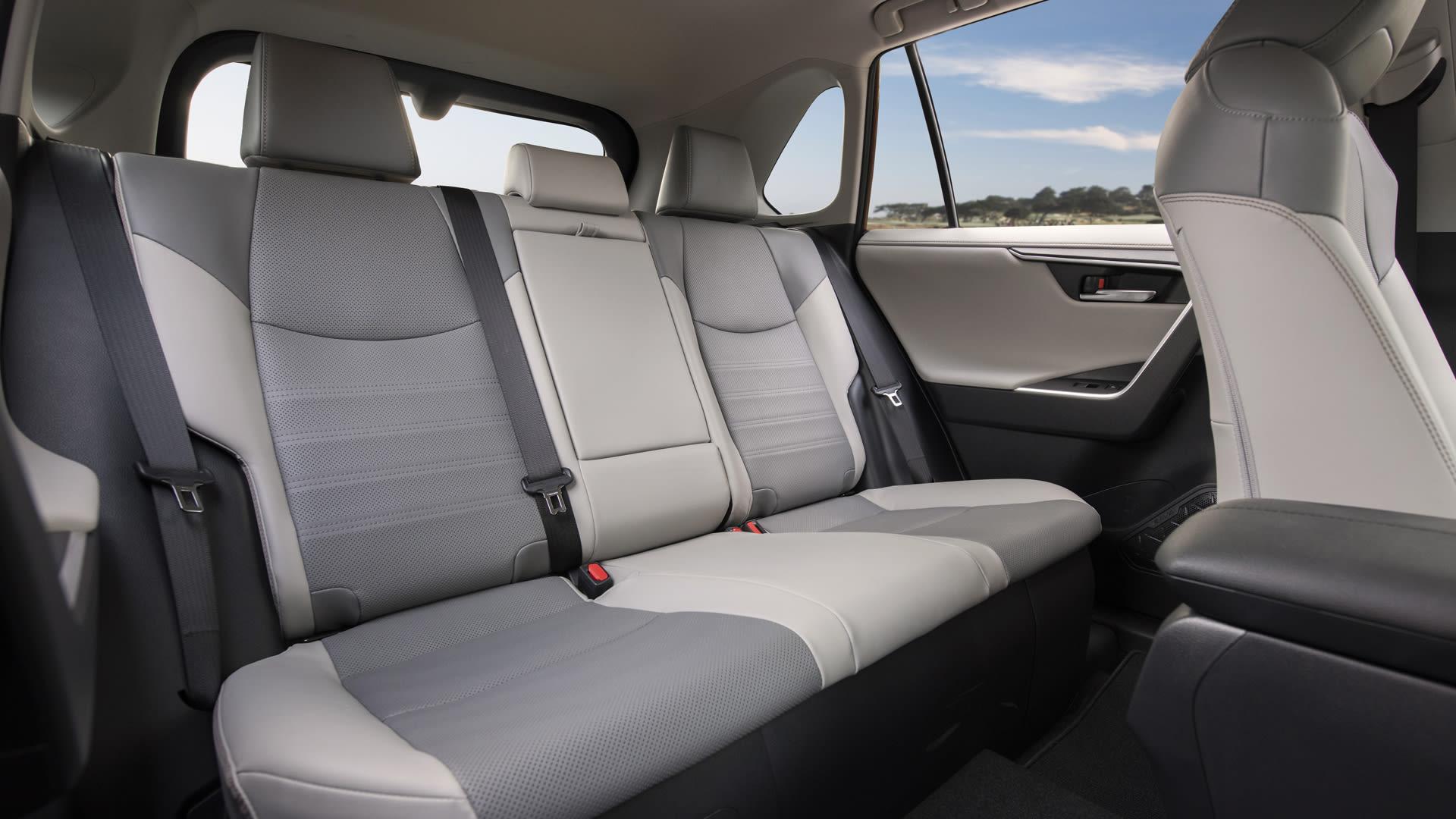 2019 Toyota RAV4 Hybrid Limited Интерьер