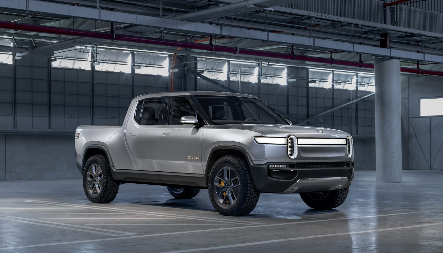 So It S No Surprise That Automotive Startup Rivian Has Unveiled One Of Its Own The R1s More Exciting Is Company Electron Ed Pickup Truck