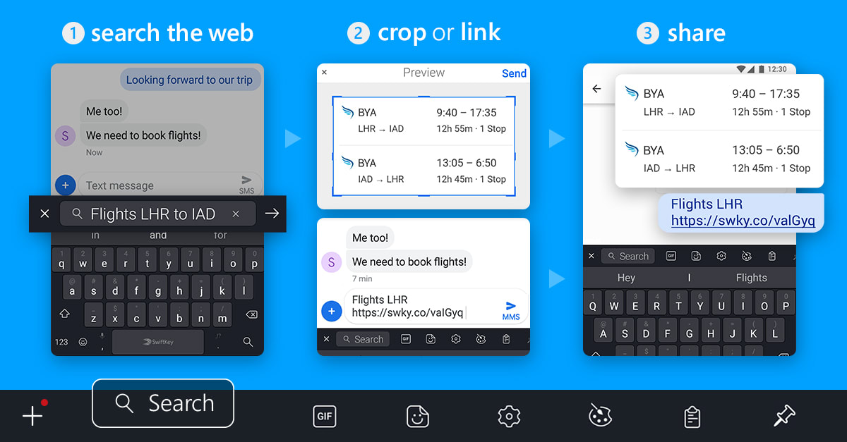 SwiftKey for Android Search