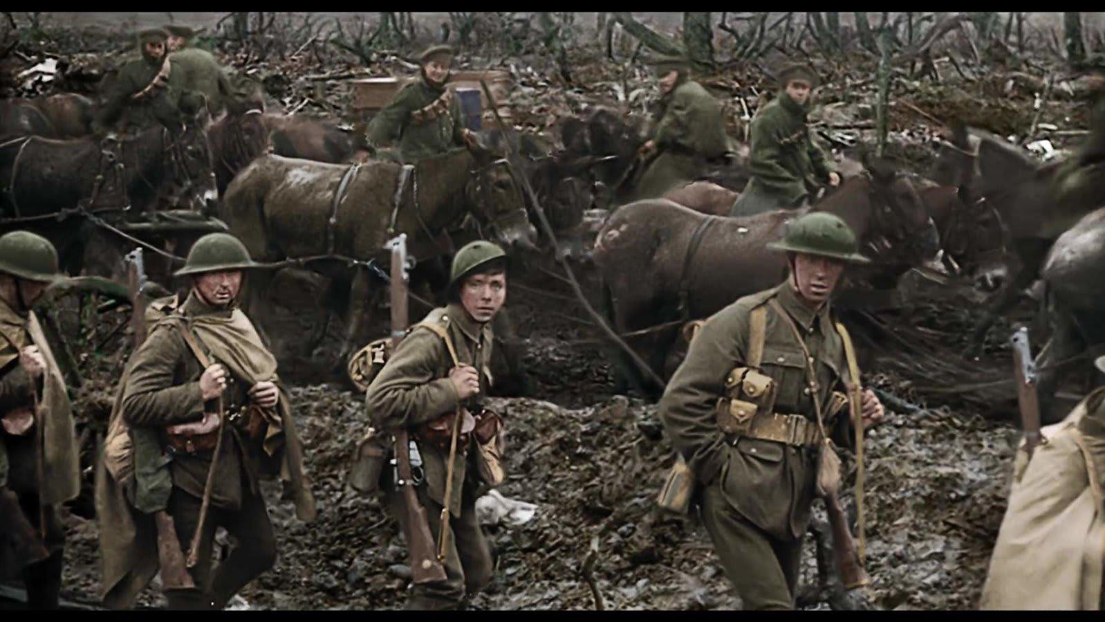第一次大戦当時の映像を修復 カラー化した映画 they shall not grow