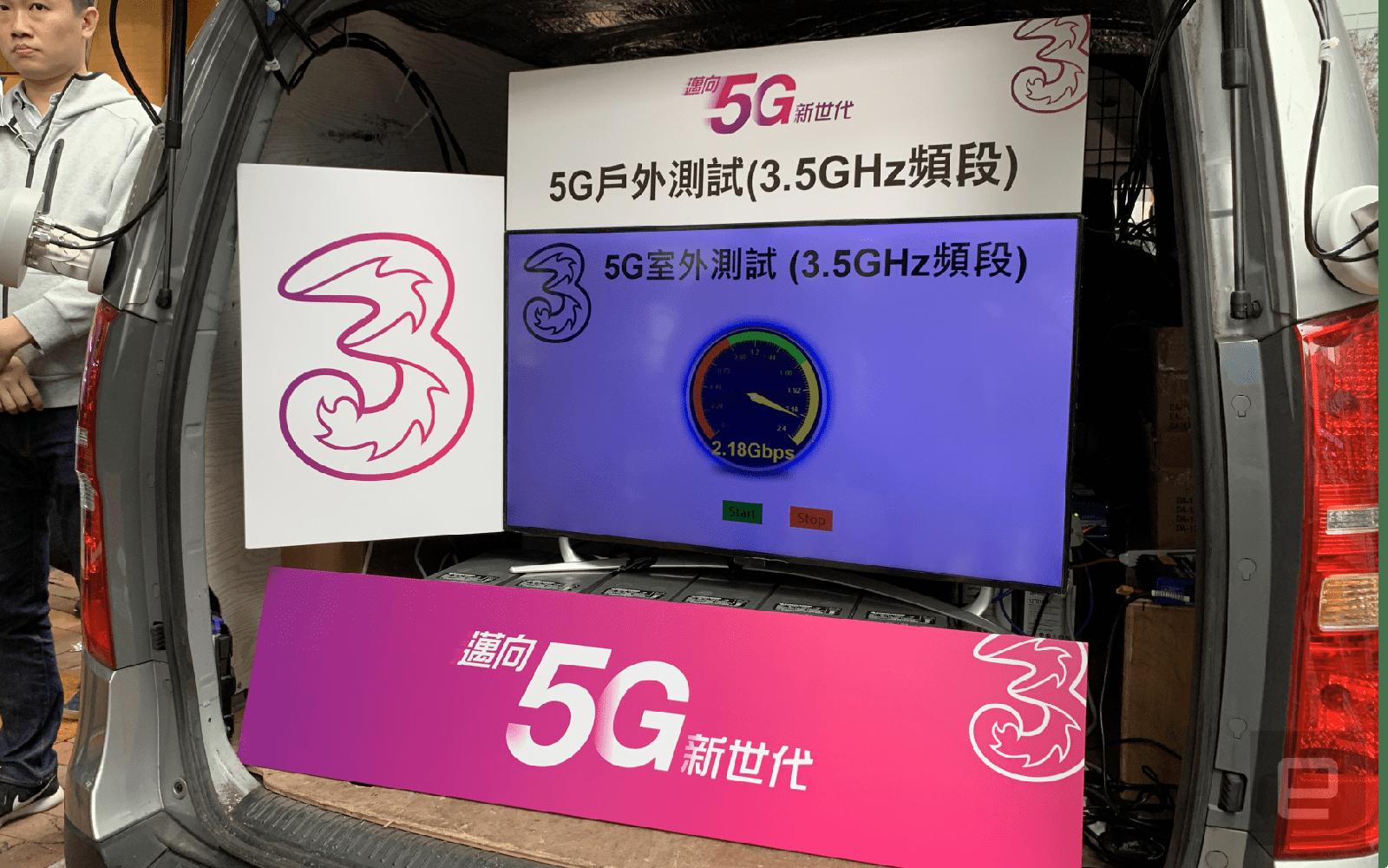 3HK 5G demo