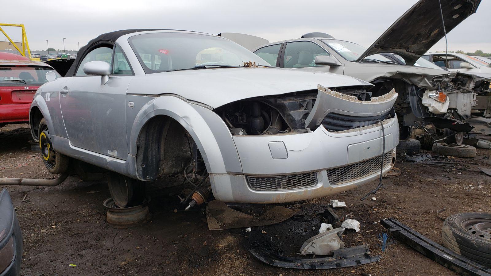 2001 Audi Tt Quattro Roadster In Colorado Wrecking Yard