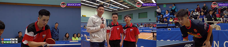 The All Hong Kong School Jing Ying Table Tennis and Badminton Tournament Goes Live