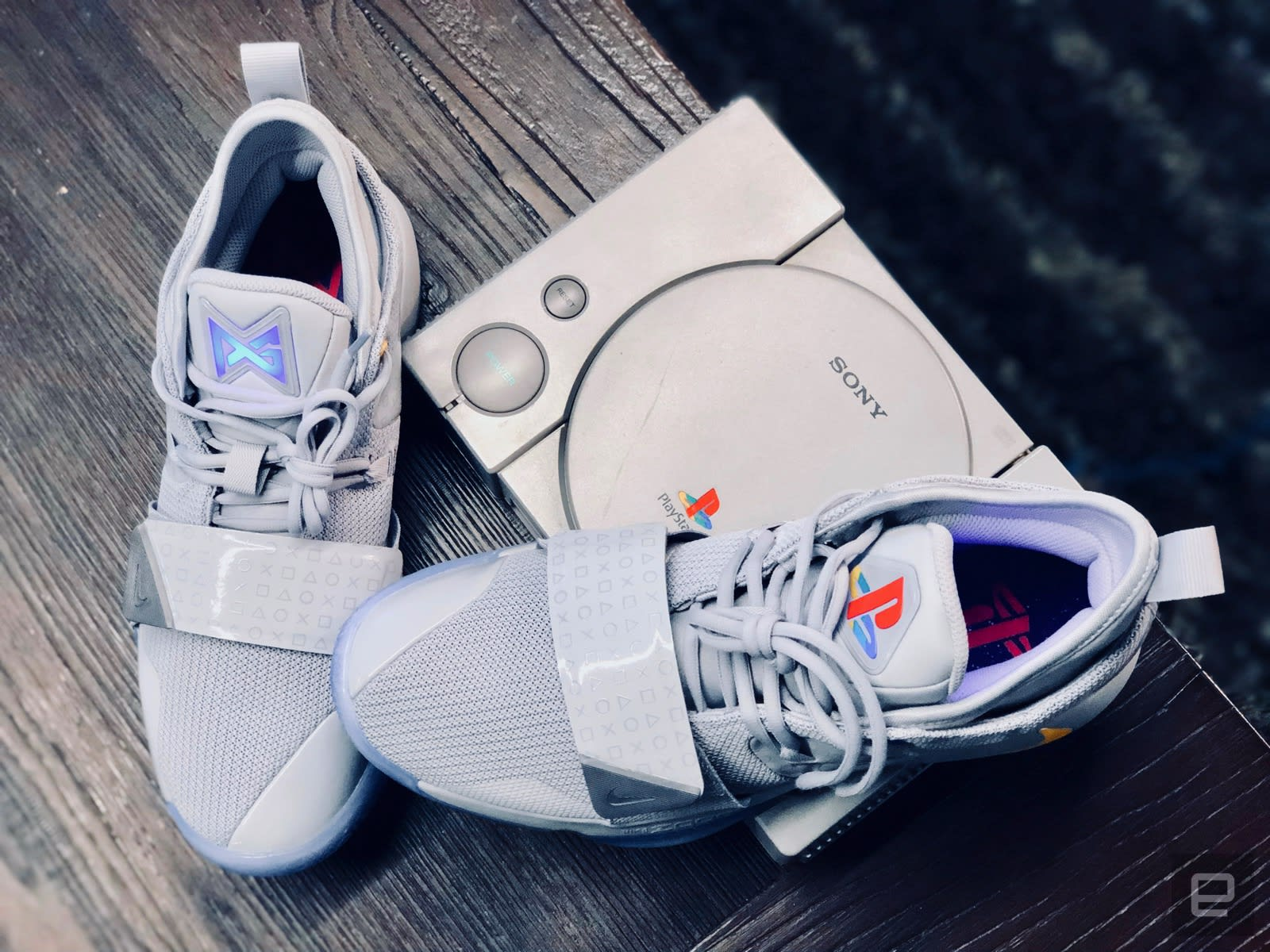 best sneakers 38cf5 aca08 Nike's new PlayStation sneakers pay homage to Sony's classic ...