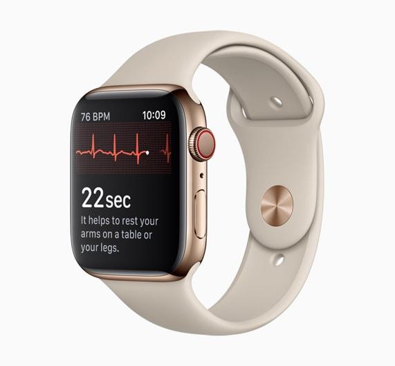 048bdfcccf watchOS 5.1.2でApple Watch Series 4が心電図機能を正式サポート。ただし米国および米領のみ - Engadget 日本版