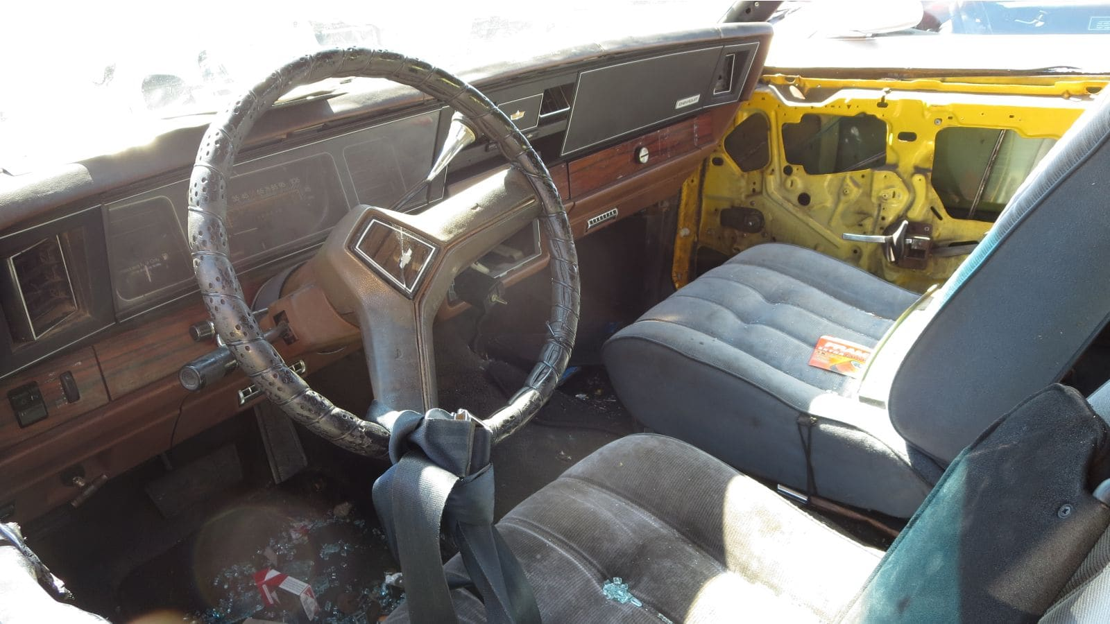 Junked 1990 Chevrolet Caprice