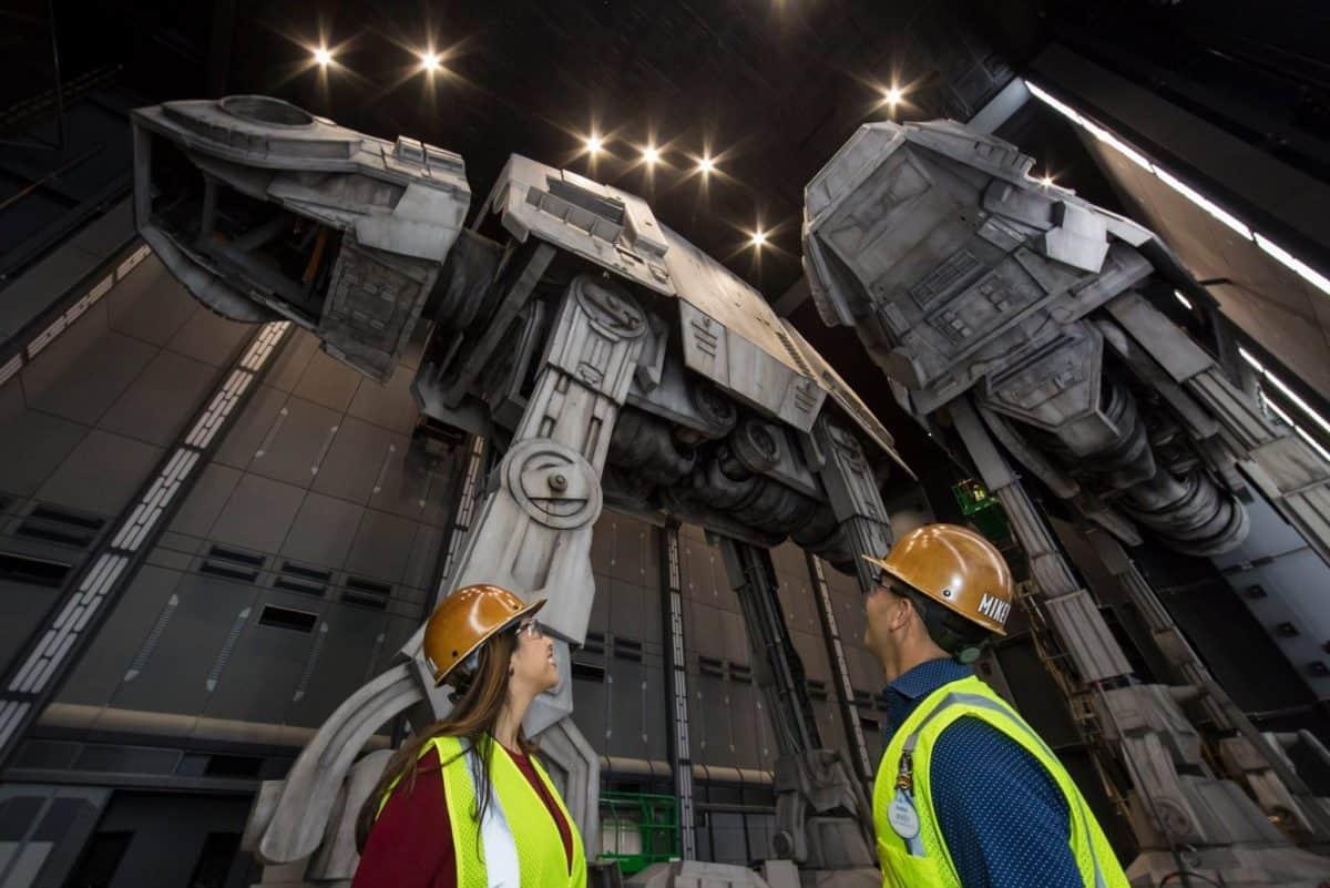 Disney Star Wars ride