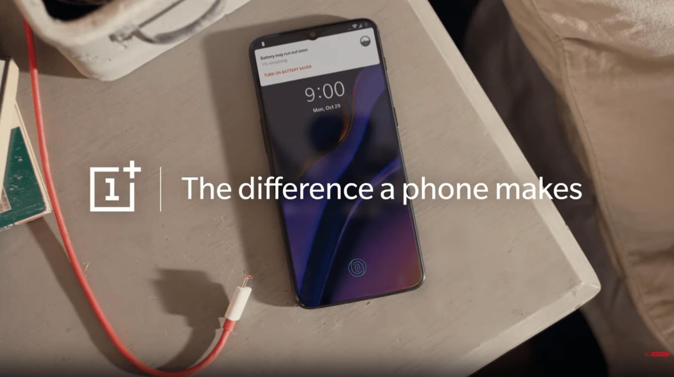 OnePlus edit 6T bezel