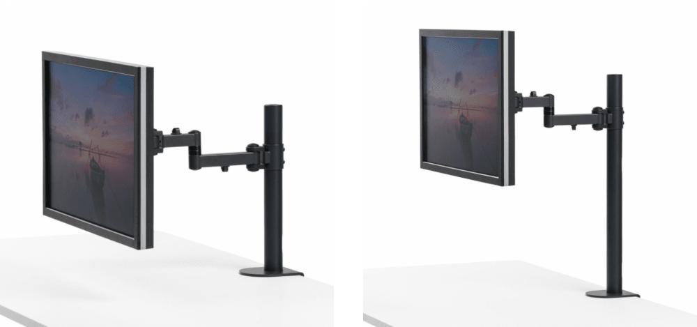 Sanwa Monitor Arm CR-LA1701BK and CR-LA1702BK Image